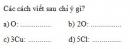 Bài 4 trang 30 Tài liệu dạy - học Hóa học 8 tập 1