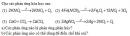Bài 1 trang 23 Tài liệu dạy - học Hóa học 8 tập 2