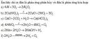 Bài 3 trang 24 Tài liệu dạy - học Hóa học 8 tập 2