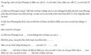 Bài 3 trang 67 Tài liệu Dạy – Học Vật lí 9 tập 2