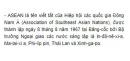 Sưu tầm tài liệu về tổ chức ASEAN