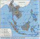 Dựa theo lược đồ, trình bày khái quát quá trình xâm lược các nước Đông Nam Á của thực dân phương Tây?