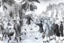 Dựa vào lược đồ (hình 86), nêu một số địa điểm diễn ra khởi nghĩa chống Pháp ở Nam Kì.