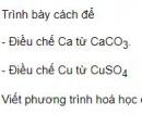 Bài 1 trang 98 sgk hoá học 12