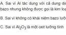 Bài 3 trang 128 sgk hóa học 12