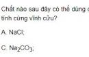 Bài 3 trang 132 SGK hóa học 12