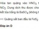 Bài 3 - Trang 151 - SGK Hóa học 12