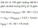 Bài 3 trang 98 SGK Hoá học 12