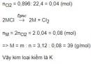 Bài 5 trang 111 SGK Hóa học 12