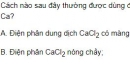 Bài 5 trang 132 SGK hóa học 12