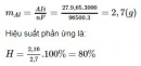 Bài 8 trang 129 sgk hóa học 12