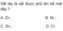 Bài 2 trang 163 SGK Hóa học 12