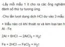 Bài 2 - Trang 165 - SGK Hóa học 12