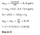 Bài 3 - Trang 167 - SGK Hóa Học 12