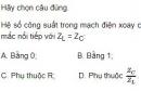 Bài 3 trang 85 SGK Vật lí 12