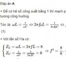 Bài 4 trang 85 sgk vật lý 12