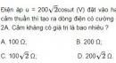 Bài 9 trang 74 SGK Vật lí 12