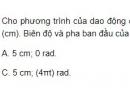 Bài 9 trang 9 SGK Vật lí 12