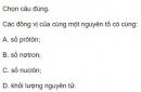 Bài 5 trang 180 sgk Vật lí 12