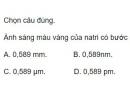 Bài 7 trang 133 sgk Vật lý lớp 12