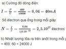 Bài 7 trang 146 sgk Vật lý lớp 12