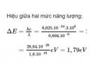 Bài 7 trang 169 SGK Vật lí 12