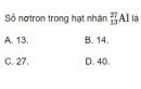 Bài 7 trang 180 SGK Vật lí 12