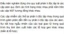 Bài 1 trang 41 SGK Sinh 12
