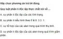 Bài 5 trang 41 SGK Sinh 12