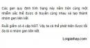 Bài 3 trang 49 SGK Sinh 12