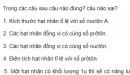 Bài 1 trang 180 sgk Vật lý 12