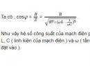 Bài 1 trang 85 sgk vật lý 12