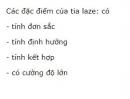 Câu 2 trang 173 SGK Vật lí 12
