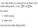 Bài 2 trang 180 SGK Vật lí 12