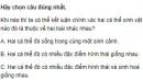 Bài 5 trang 125 SGK Sinh 12