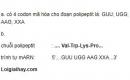 Bài 4 trang 64 SGK Sinh 12