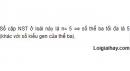 Bài 6 trang 65 SGK Sinh 12