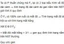 Bài 4, 5, 6, 7 trang 67 SGK Sinh 12