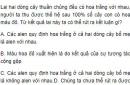 Bài 6 trang 67 SGK Sinh 12