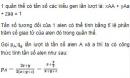Bài 2 trang 73 SGK Sinh 12