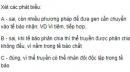 Bài 1 trang 86 SGK Sinh 12