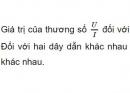 Bài C2 trang 7 SGK Vật lí 9