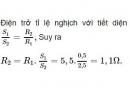 Bài C4 trang 24 sgk vật lí 9