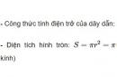 Bài C4 trang 27 SGK Vật lí 9
