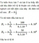 Bài C5* trang 24 sgk vật lí 9
