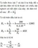 Bài C6* trang 24 sgk vật lí 9
