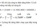 Bài C8 trang 39 SGK Vật lí 9