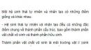 Bài 4 trang 190 SGK Sinh 12