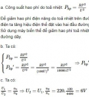 Bài 11 trang 106 SGK Vật lí 9