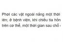 Bài C1 trang 146 SGK Vật lí 9
